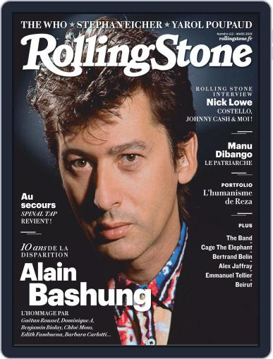 Rolling Stone France (Digital) March 1st, 2019 Issue Cover
