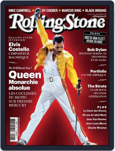 Rolling Stone France (Digital) November 1st, 2018 Issue Cover