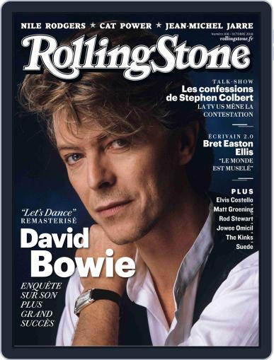 Rolling Stone France October 1st, 2018 Digital Back Issue Cover