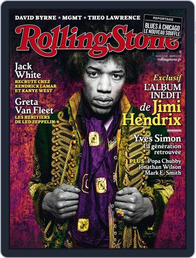 Rolling Stone France March 1st, 2018 Digital Back Issue Cover