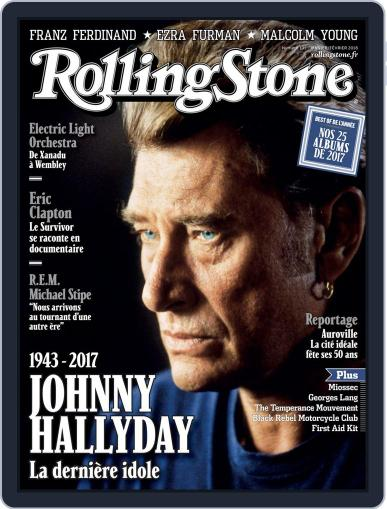 Rolling Stone France January 1st, 2018 Digital Back Issue Cover