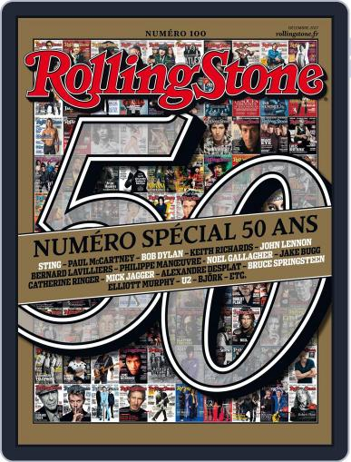 Rolling Stone France (Digital) November 29th, 2017 Issue Cover