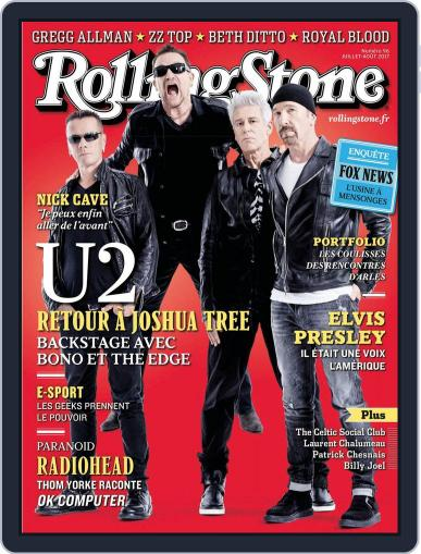 Rolling Stone France (Digital) July 1st, 2017 Issue Cover