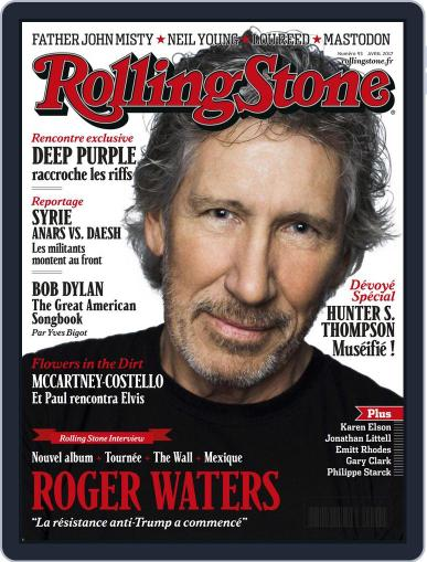Rolling Stone France (Digital) March 25th, 2017 Issue Cover