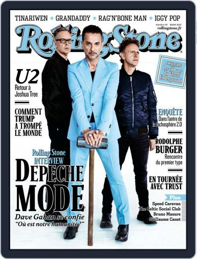 Rolling Stone France (Digital) March 1st, 2017 Issue Cover