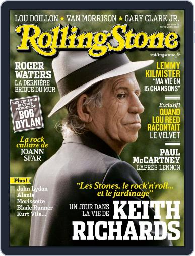 Rolling Stone France October 31st, 2015 Digital Back Issue Cover