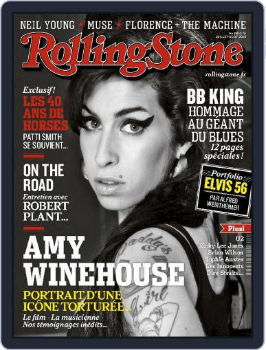 Rolling Stone France (Digital) June 30th, 2015 Issue Cover