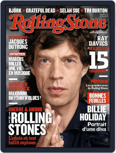 Rolling Stone France March 31st, 2015 Digital Back Issue Cover