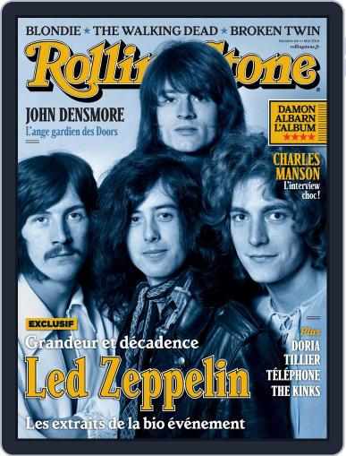 Rolling Stone France (Digital) April 17th, 2014 Issue Cover
