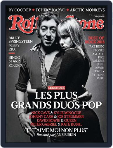 Rolling Stone France December 17th, 2013 Digital Back Issue Cover
