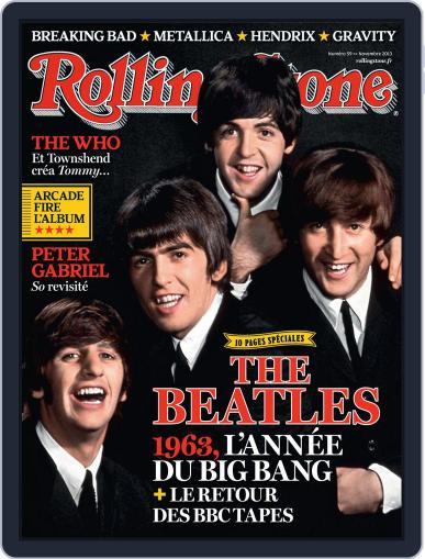 Rolling Stone France (Digital) October 11th, 2013 Issue Cover