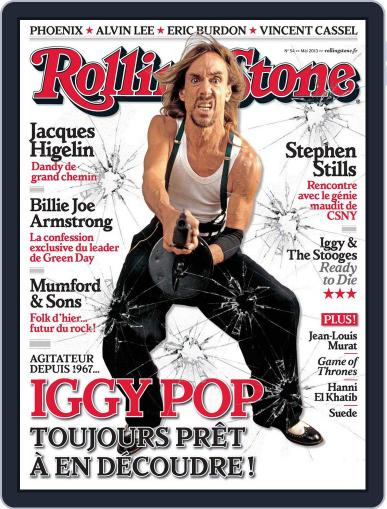 Rolling Stone France (Digital) April 12th, 2013 Issue Cover