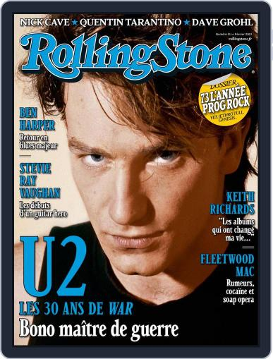 Rolling Stone France (Digital) January 18th, 2013 Issue Cover