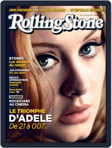 Rolling Stone France (Digital) November 22nd, 2012 Issue Cover