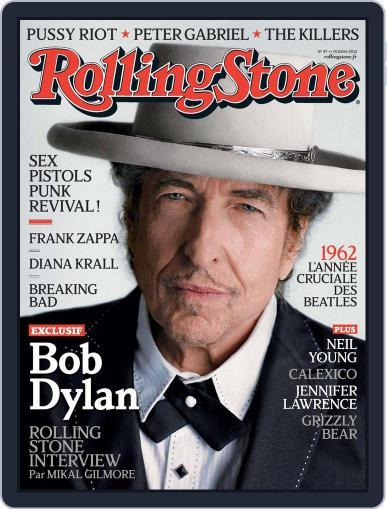 Rolling Stone France September 23rd, 2012 Digital Back Issue Cover
