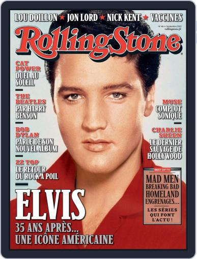 Rolling Stone France August 23rd, 2012 Digital Back Issue Cover