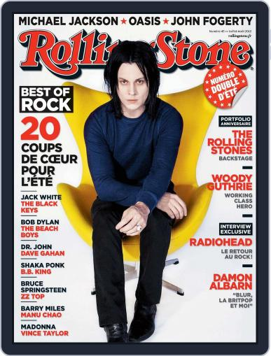 Rolling Stone France (Digital) June 24th, 2012 Issue Cover