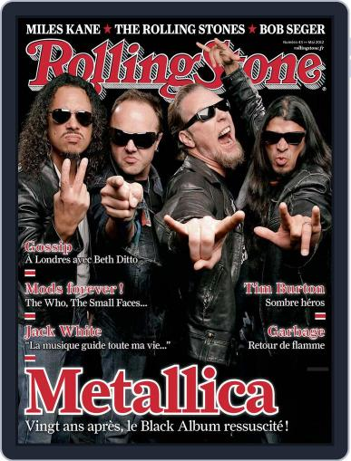 Rolling Stone France (Digital) April 24th, 2012 Issue Cover