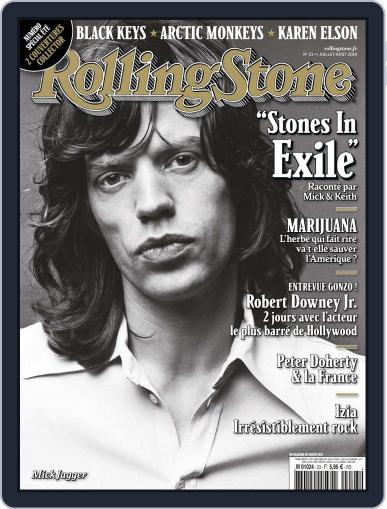Rolling Stone France July 1st, 2010 Digital Back Issue Cover
