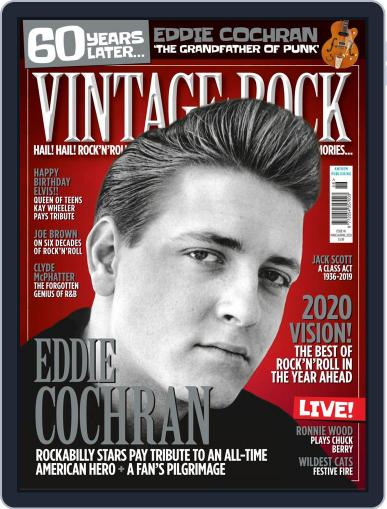 Vintage Rock (Digital) March 1st, 2020 Issue Cover