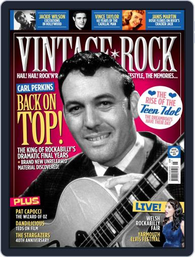 Vintage Rock (Digital) January 1st, 2020 Issue Cover