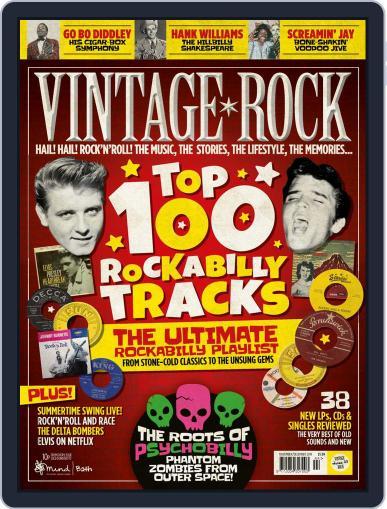 Vintage Rock (Digital) November 1st, 2019 Issue Cover