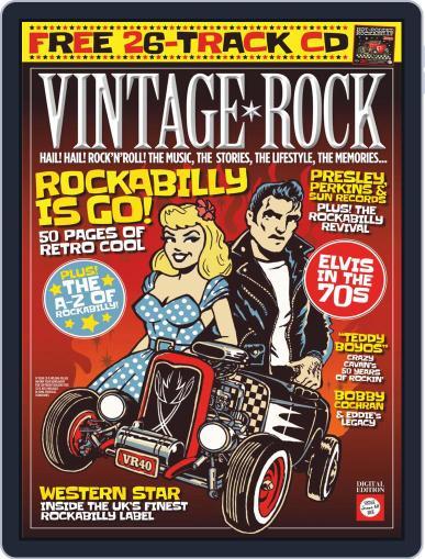 Vintage Rock March 1st, 2019 Digital Back Issue Cover