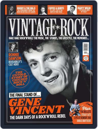 Vintage Rock January 1st, 2019 Digital Back Issue Cover