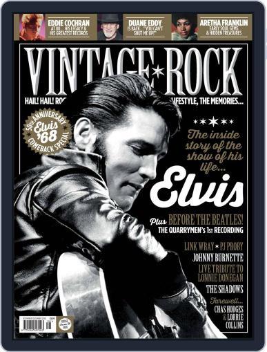 Vintage Rock (Digital) November 1st, 2018 Issue Cover