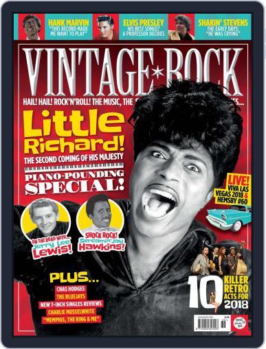Vintage Rock (Digital) July 1st, 2018 Issue Cover