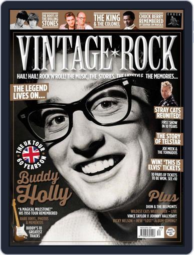 Vintage Rock March 1st, 2018 Digital Back Issue Cover