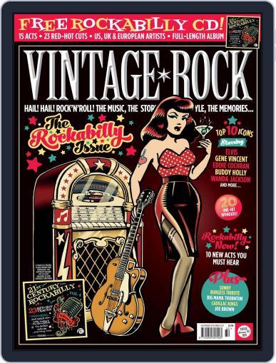 Vintage Rock November 1st, 2017 Digital Back Issue Cover