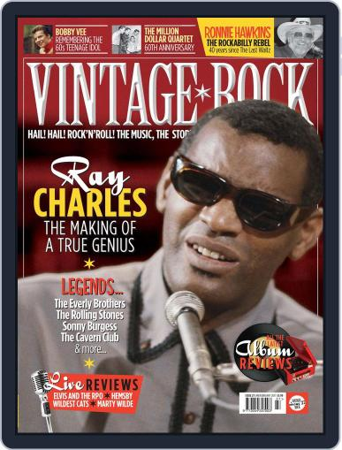 Vintage Rock (Digital) January 1st, 2017 Issue Cover