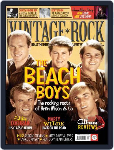 Vintage Rock September 1st, 2016 Digital Back Issue Cover