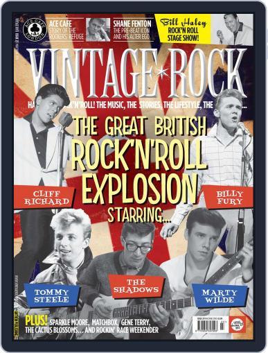 Vintage Rock April 21st, 2016 Digital Back Issue Cover