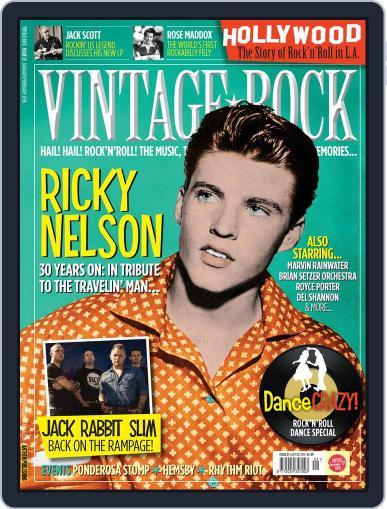 Vintage Rock January 1st, 2016 Digital Back Issue Cover
