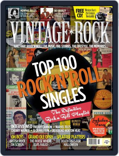 Vintage Rock (Digital) October 15th, 2014 Issue Cover