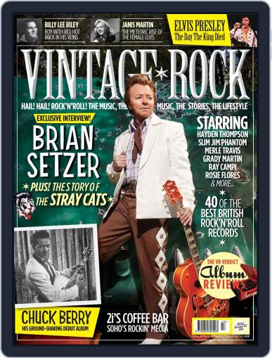 Vintage Rock (Digital) August 21st, 2014 Issue Cover