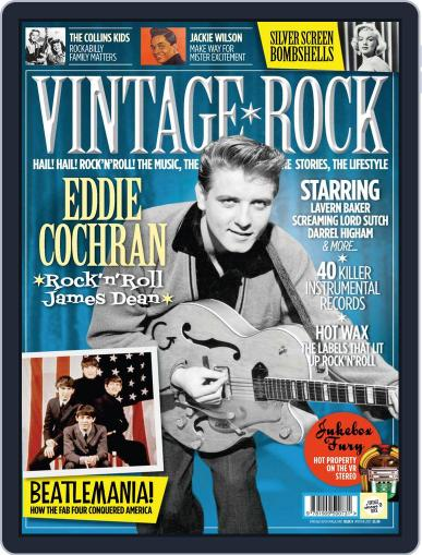 Vintage Rock January 14th, 2014 Digital Back Issue Cover