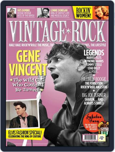 Vintage Rock (Digital) March 26th, 2013 Issue Cover