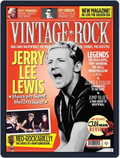 Vintage Rock October 2nd, 2012 Digital Back Issue Cover