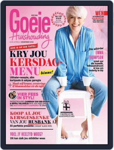 Goeie Huishouding (Digital) December 1st, 2018 Issue Cover