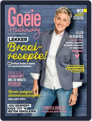 Goeie Huishouding (Digital) October 1st, 2017 Issue Cover