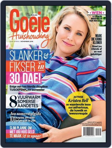 Goeie Huishouding November 1st, 2016 Digital Back Issue Cover