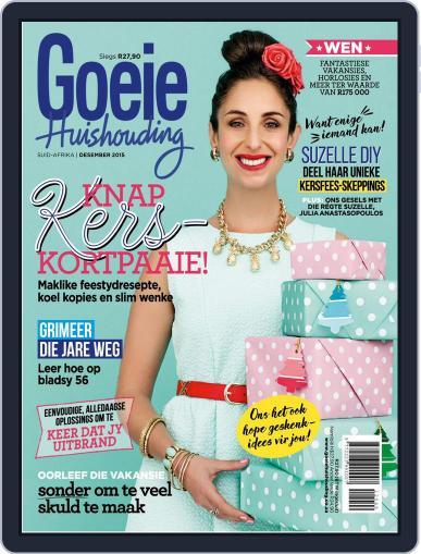 Goeie Huishouding December 1st, 2015 Digital Back Issue Cover