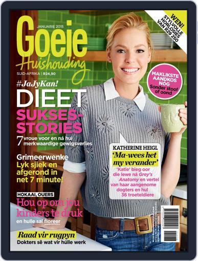 Goeie Huishouding January 1st, 2015 Digital Back Issue Cover