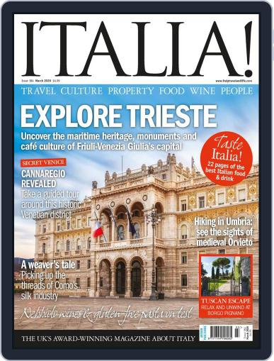 Italia March 1st, 2020 Digital Back Issue Cover