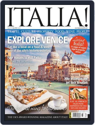 Italia (Digital) June 1st, 2019 Issue Cover