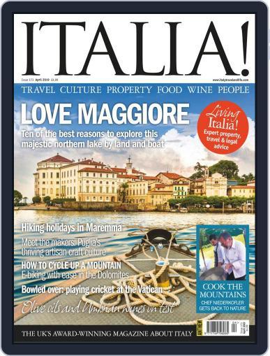 Italia (Digital) April 1st, 2019 Issue Cover