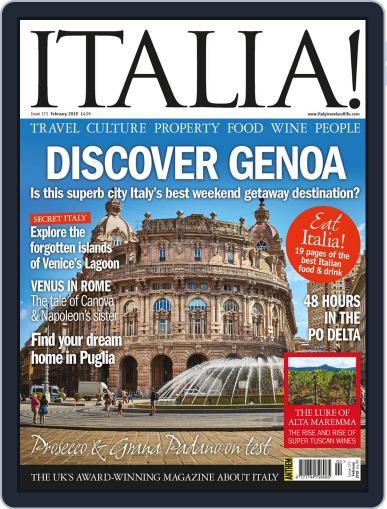 Italia (Digital) February 1st, 2019 Issue Cover